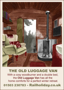 Irene Vidal Old Luggage Van