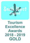 Gold for sustainable tourism in the 2016 South West Tourism Awards
